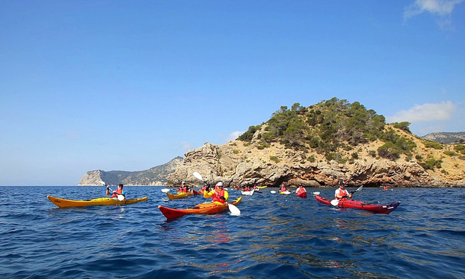 Kayak, Mountainbike, Wandern: 3 Traum-Touren aus der 4-Day-Challenge-Ibiza