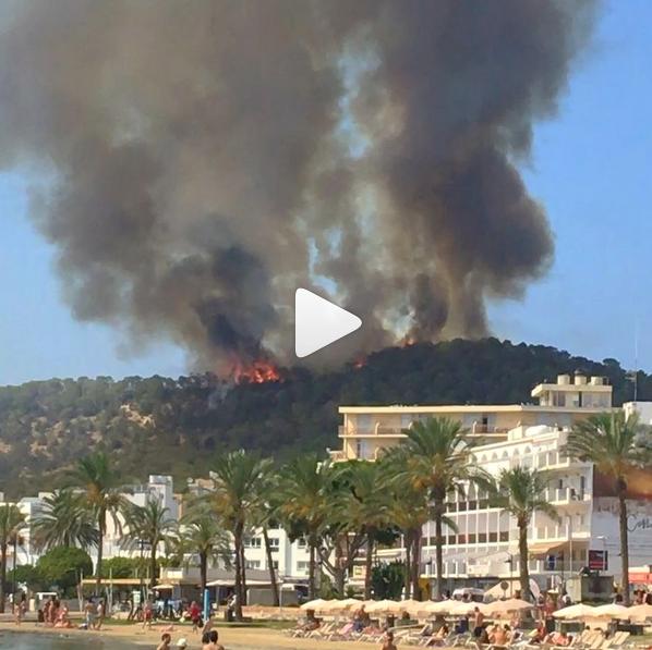 Feuer nahe Sant Antoni gelöscht