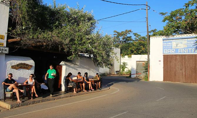 Ibiza-Klassiker Bar Anita im Nordosten