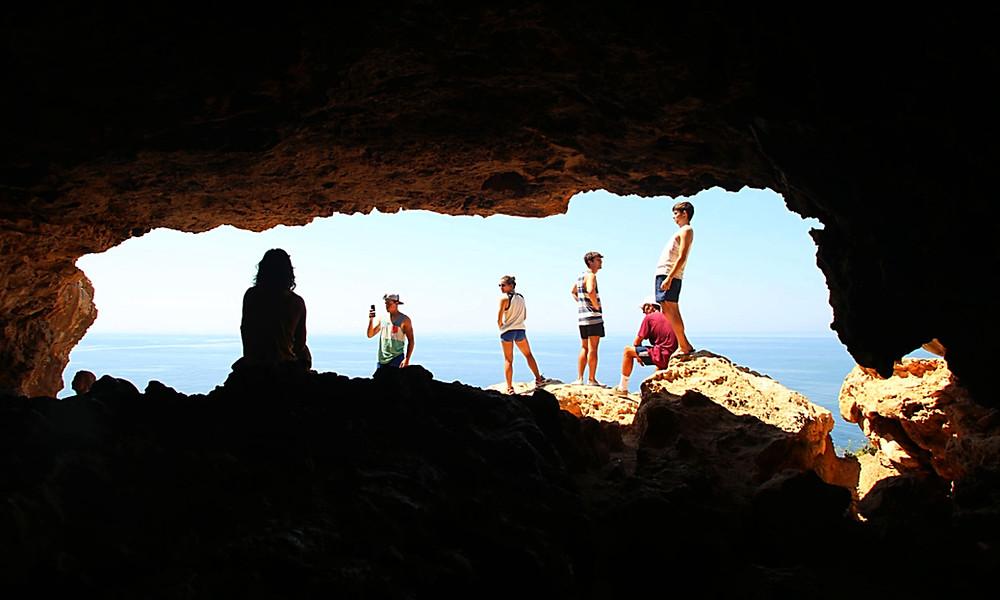 Cova Forradada am Cap de Barbaría