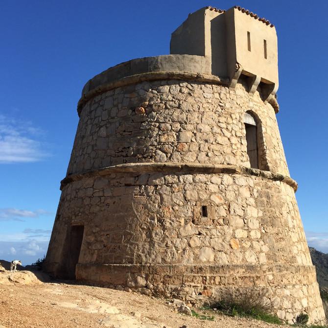 Turm mit Ausblick: Torre des Molar