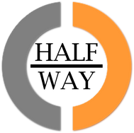 Half-Way Official HD Logo Text (Black 20