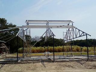 Inicio de construcción del Club Ecuestre