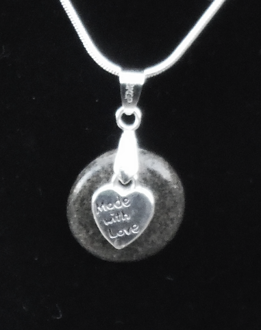 Made With Love Round Stone Necklace