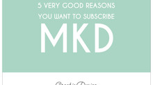 5 Very Good Reasons You Want To Subscribe To Molly Kruse Design