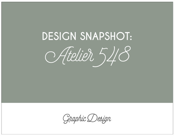 DESIGN SPOTLIGHT: ALTELIER 548
