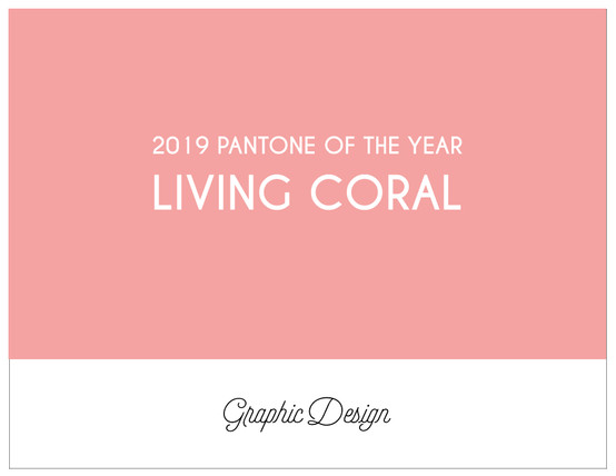 Living Coral: Pantone of the year 2019