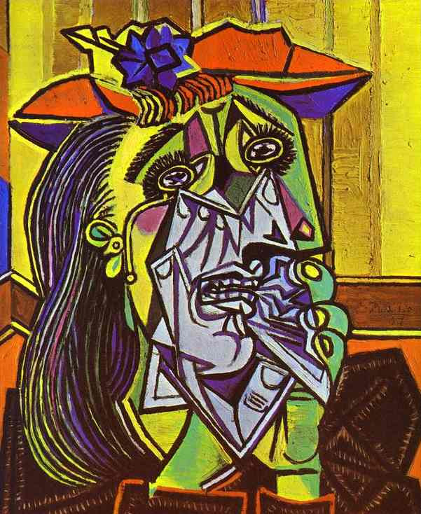 The Weeping Woman, 1937 by Pablo Picasso