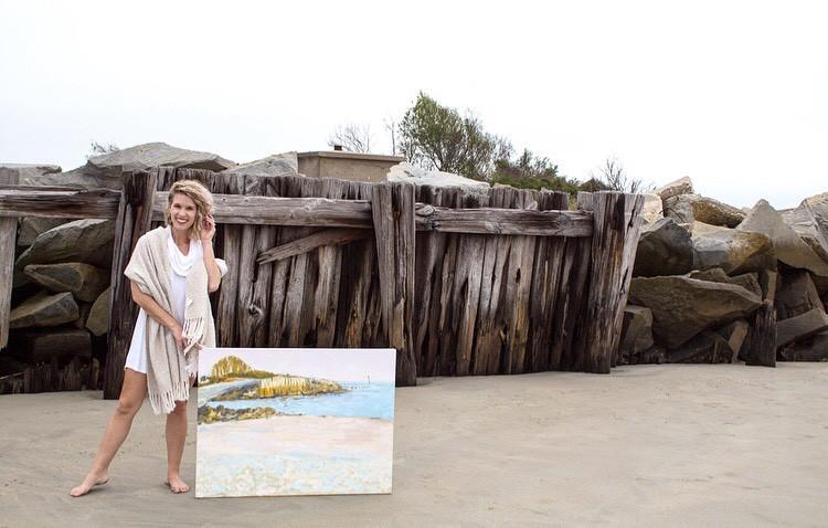 sullivans island oil painting