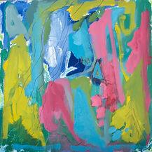 Chelaney-abstract-oil-mixed-media-painti