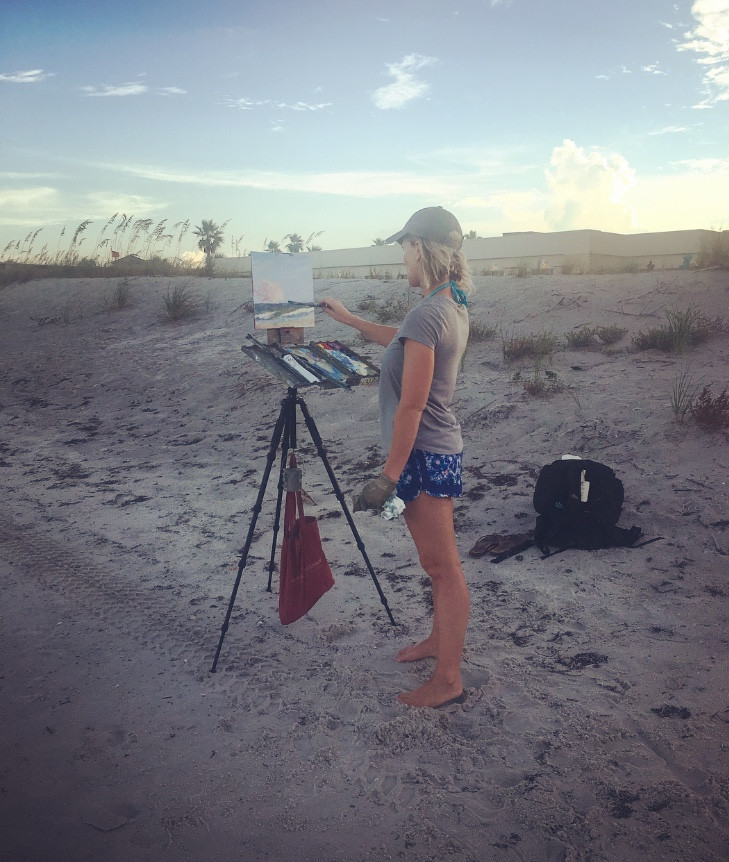 painting en plein air