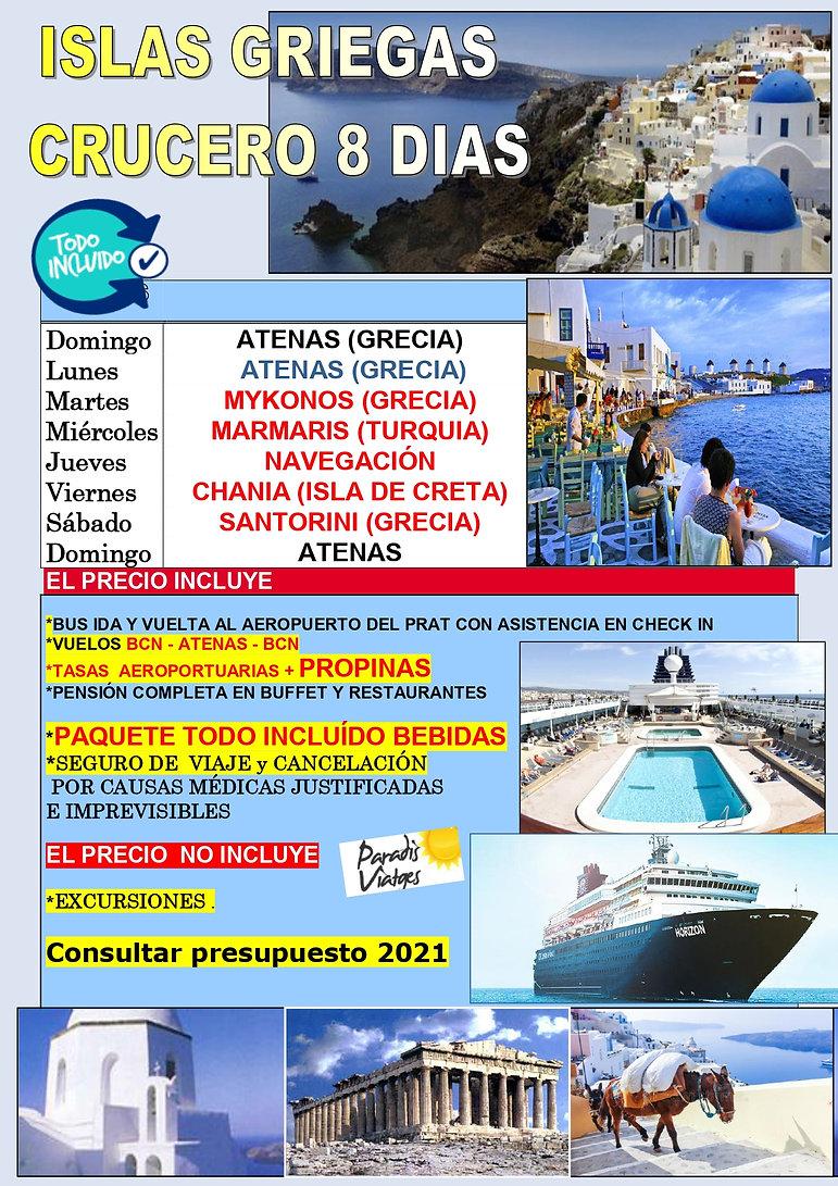 crucero islas griegas 31 MAYO 2020 - a t