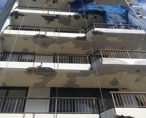 balcony-opsi damage