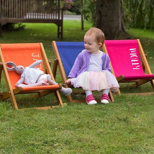 Personalised Children's Deckchair