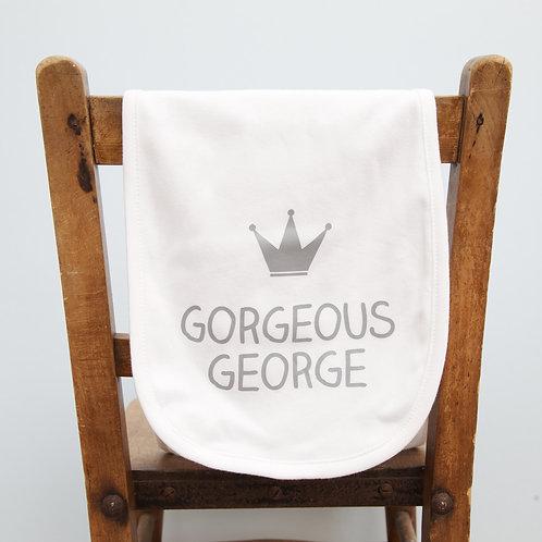 Personalised Burp Cloth