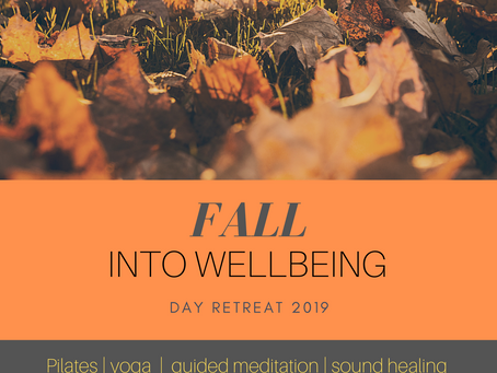 Fall Into Wellbeing