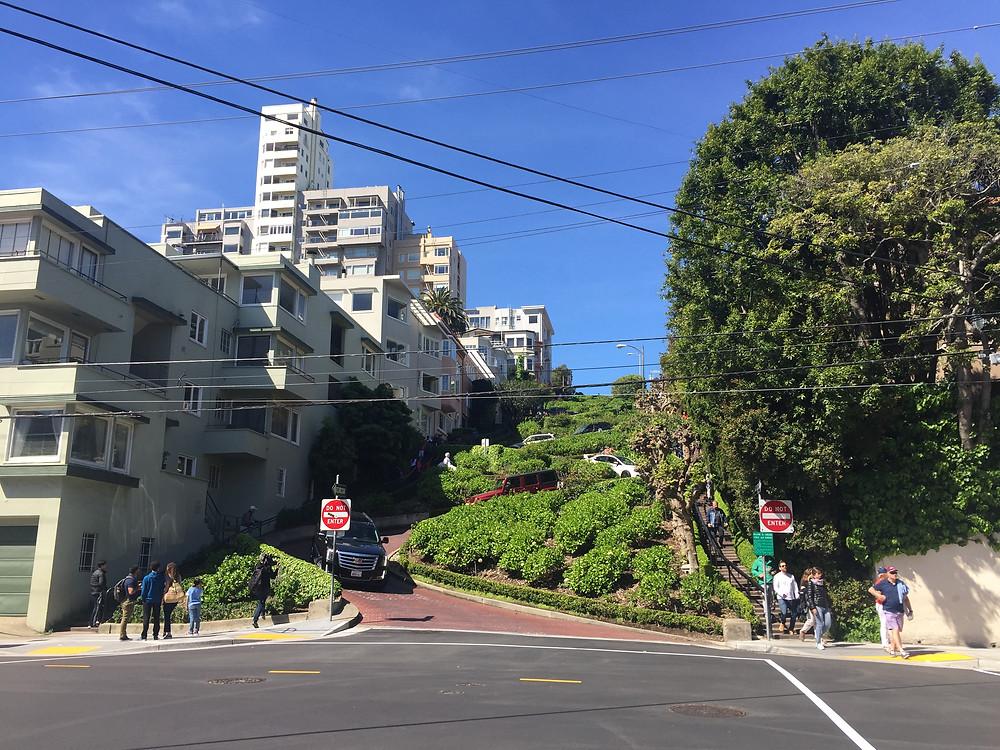 Lombard Street, San Fransisco, California