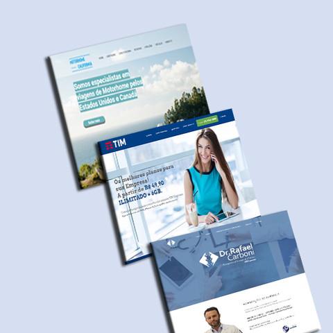 Sites e Landing Pages