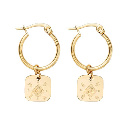 Lesly earrings. Inoxidable