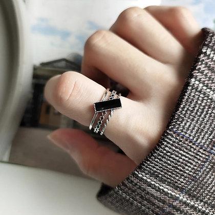 Omah ring. Inoxidable