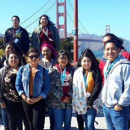 Puentistas on a Northern California University Tour