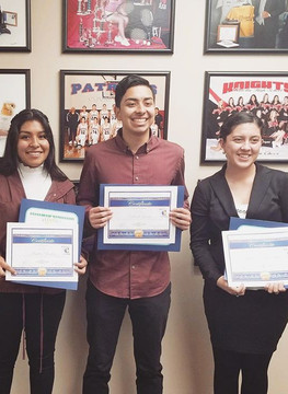 Congratulations to the Class of 2019 Puente Scholars!