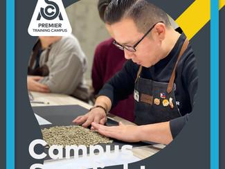 김길진 커피 랩은 국제 스페셜티 커피 협회 인증 랩 입니다. SCA Premiere Training Campus