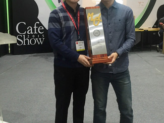 2015 Master of Cupping 이상일 선수 1등 !