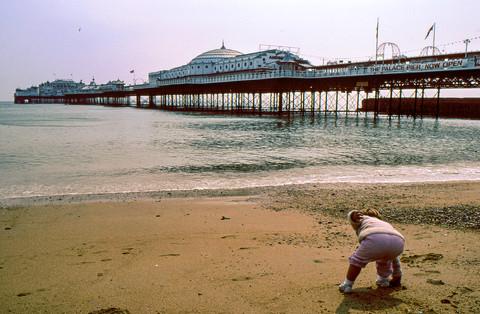 Palace Pier Brighton 1985