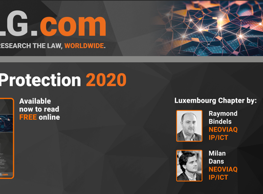 NEOVIAQ x Luxembourg chapter of the International Comparative Legal Guide - Data Protection 2020