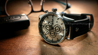 Product photography (watch) Lee Cooper model watch concept photography
