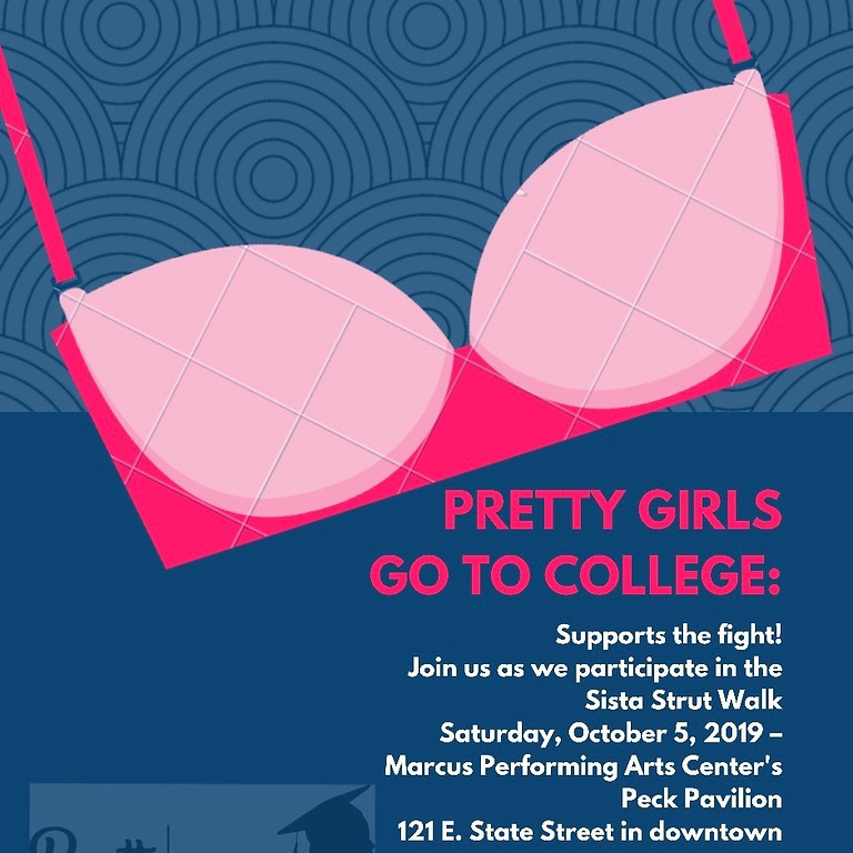 PGGTC SUPPORTS THE FIGHT- Sista Strut Walk