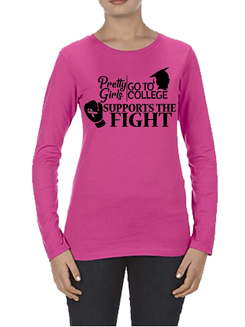 "PGGTC ""Supports The Fight T-Shirt"""
