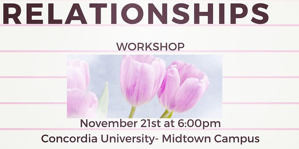 Healthy Relationships- Workshop