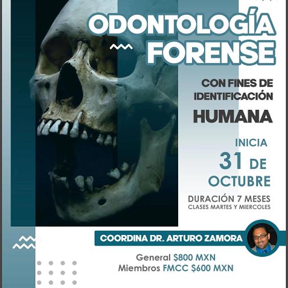 "Diplomado Online ""Odontología forense, con fines de identificación humana""."