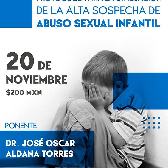 Protocolo para la evaluación de la alta sospecha de abuso sexual infantil