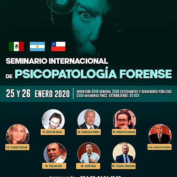 Seminario Internacional de Psicopatología Forense
