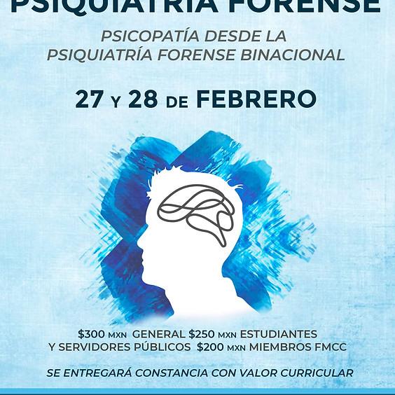 Congreso internacional online: Psiquiatría forense, psicopatía desde la psiquiatría binacional