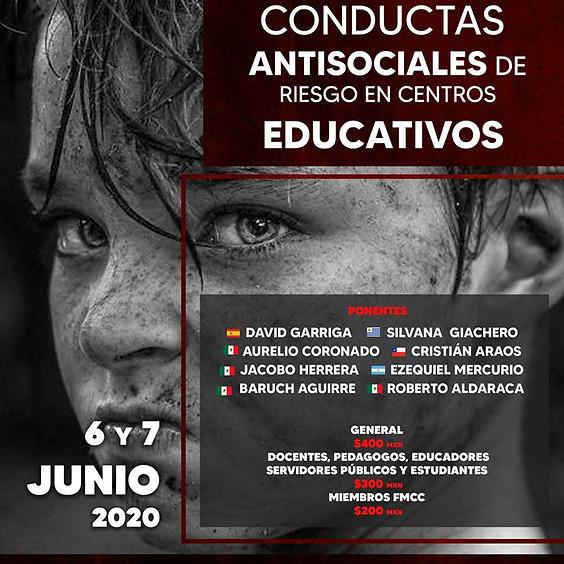 1er Foro Internacional de prevención de conductas antisociales de riesgos en centros educativos