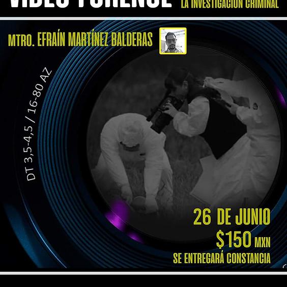 Video forense, su aplicación a la investigación criminal
