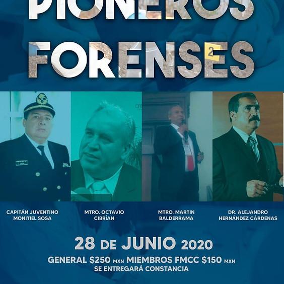 """Curso online """"Pioneros forenses""""."""