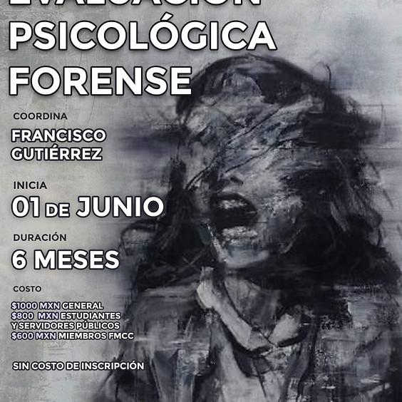 Diplomado: Evaluación psicológica forense, métodos de evaluación forense y criminal