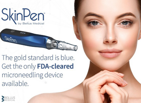 SkinPen microneedling to improve skin texture