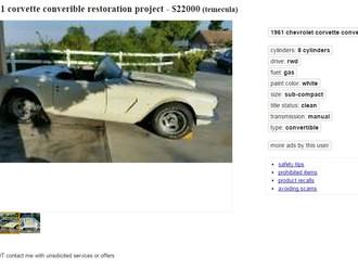 '61 Corvette - $20k Project Car