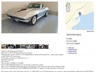 Restomod '66 Corvette 427