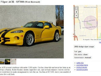 Supercharged '02 ACR Viper