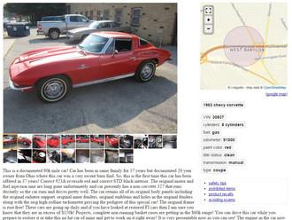 Updated: '63 Corvette SWC Fuelie - $66.5k