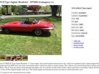 '70 Jaguar S2 E-Type Roadster - Restored