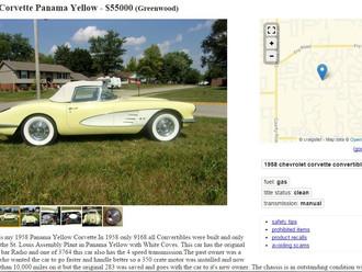 '58 Panama Yellow Corvette