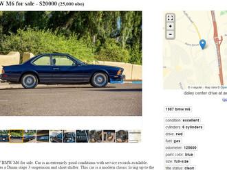 1987 BMW M6 in San Diego